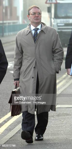 Previously unissued file dated 6/11/2006 Ian John Gilbert arrives at Guildford Crown Court