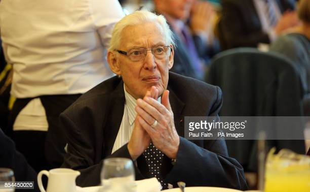 Previously unissued photo dated 21/11/13 of former Democratic Unionist leader Ian Paisley during a public event at Belfast City Hall Mr Paisley has...