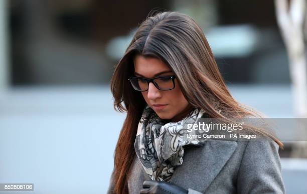 Previously unissued picture dated 11/12/13 of Kathryn Smith at Manchester Crown Court where she is charged with conspiracy to commit misconduct in...