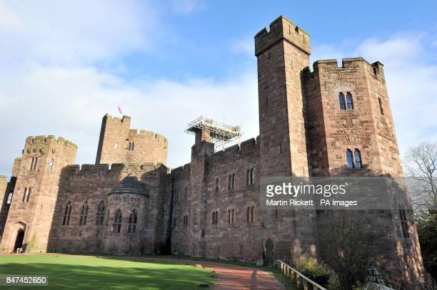 Previously unreleased photo dated of building work being carried out on Peckforton Castle Hotel in Cheshire Max Kay has been jailed for six years for...