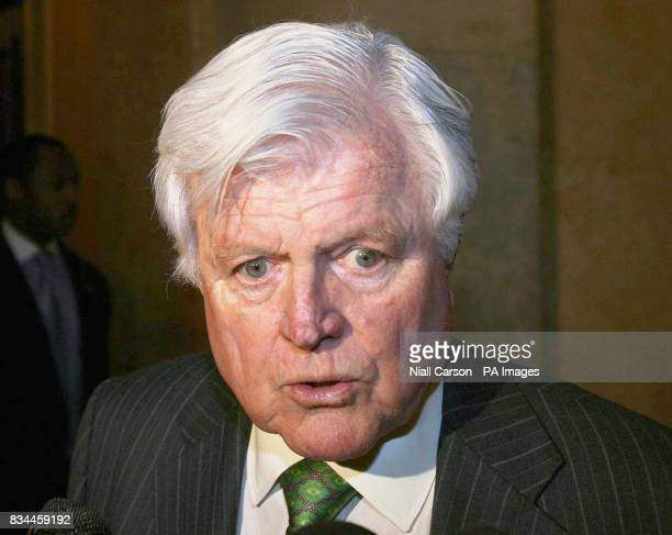 Previously unreleased photo dated Wednesday April 30 of senator Ted Kennedy in The House of Congress in Washington