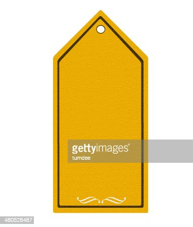 Price tag with blank background : Stockfoto