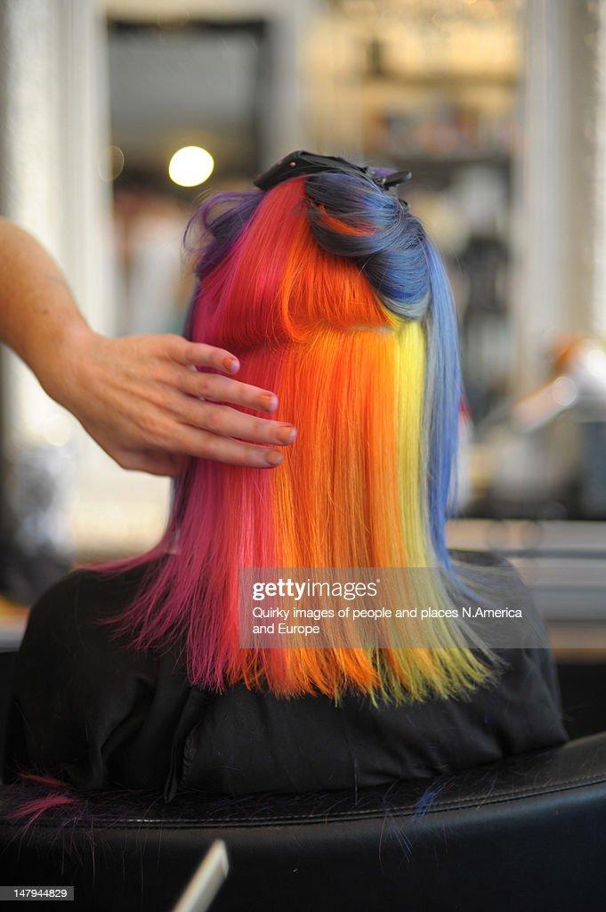 Pride hair
