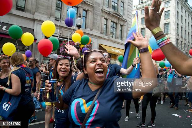 Pride in London formally known as Pride London is an annual LGBT pride festival and parade held each summer in London United Kingdom A group of...