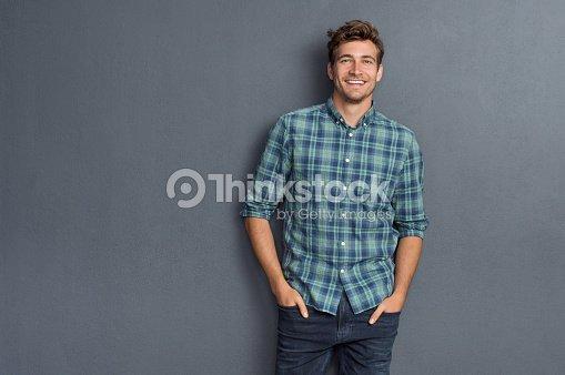 Pride man smiling : Stock Photo