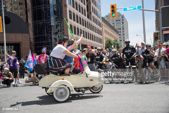 2016 Toronto Pride Stock Photos And Pictures Getty Images