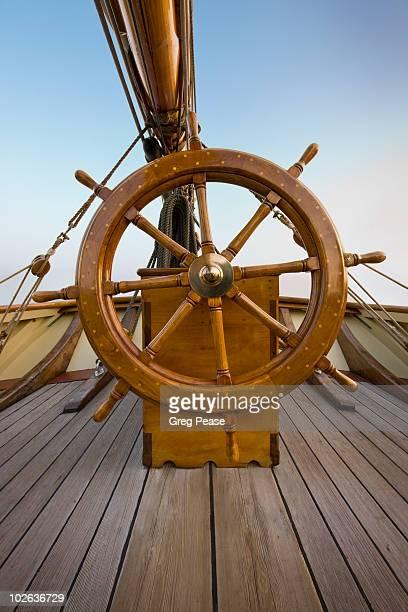 Pride of Baltimore II Ship's Wheel