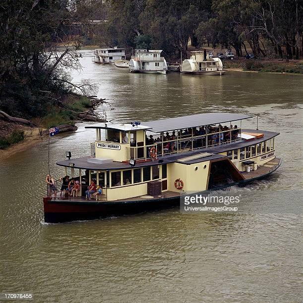 Pride of the Murray paddle steamer boat Murray River Echuca Victoria VIC Australia