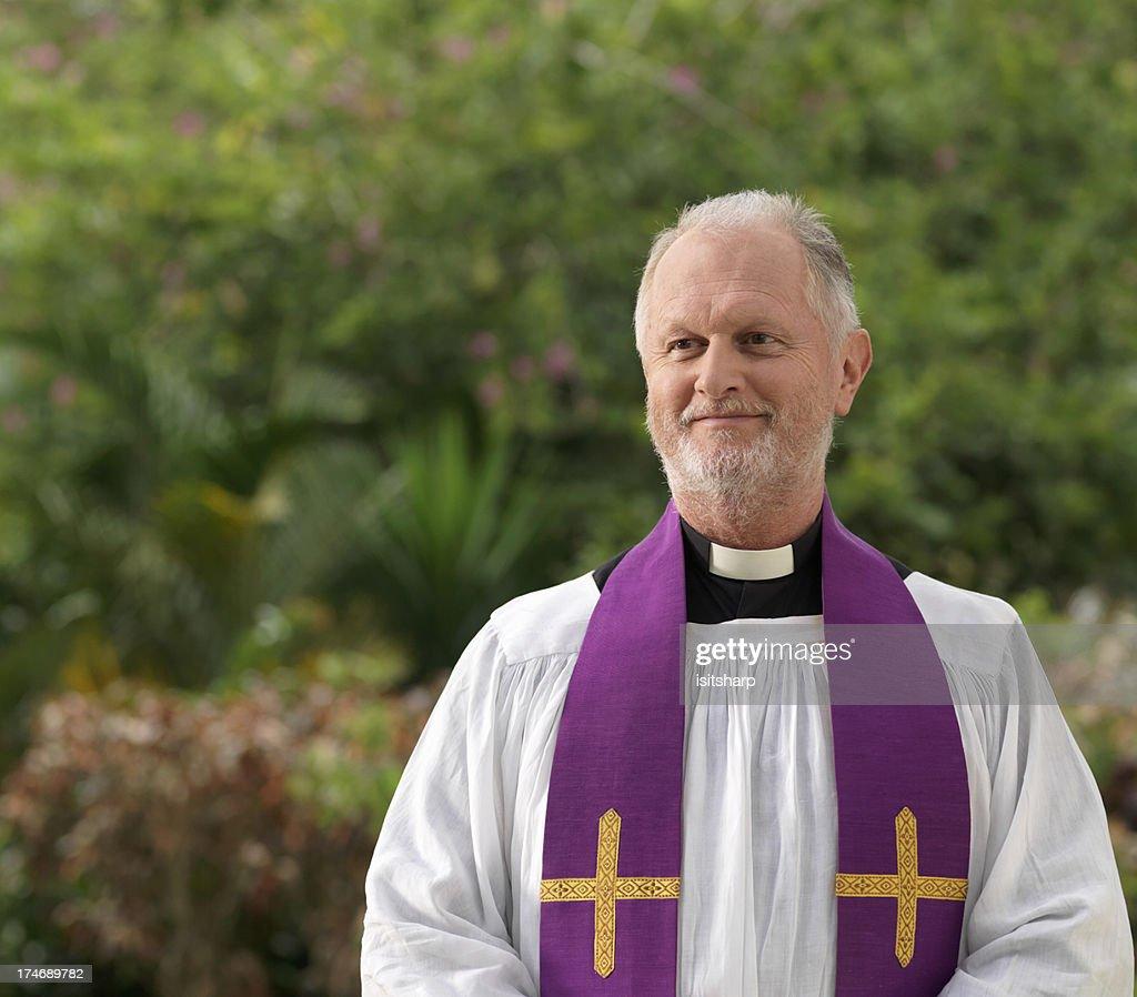 Priest : Stock Photo