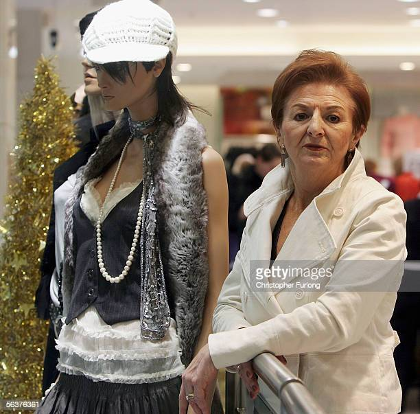 Primark Director Breege O'Donoghue waits for the doors to open at the new Primark clothing flagship store on December 8th Hull England Low cost...