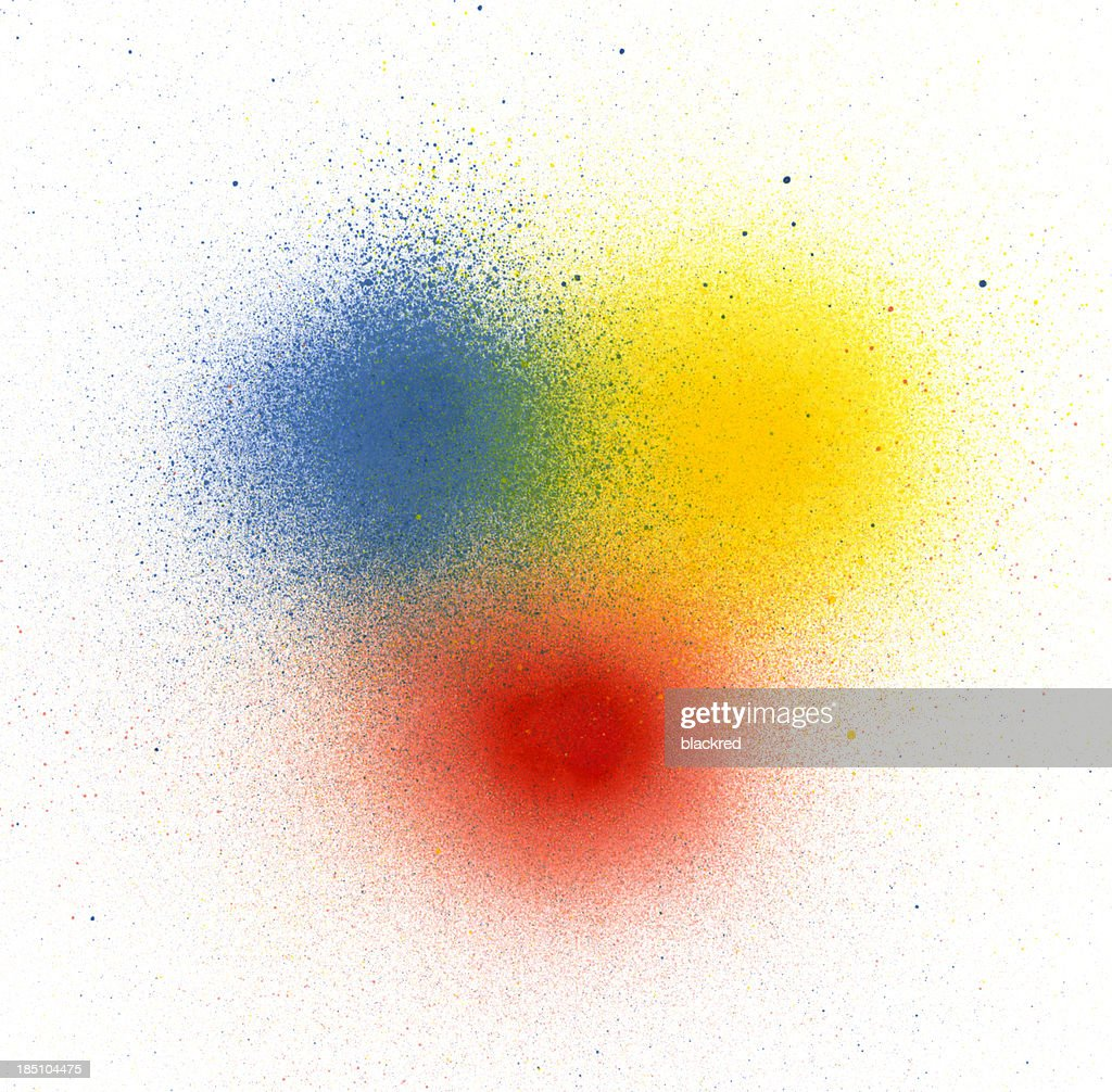 Primary Colors Spray Paint