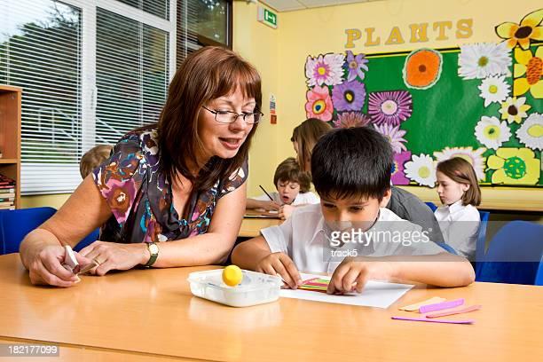 primary school: artistic encouragment