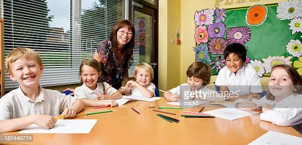 primary school: positive pupils