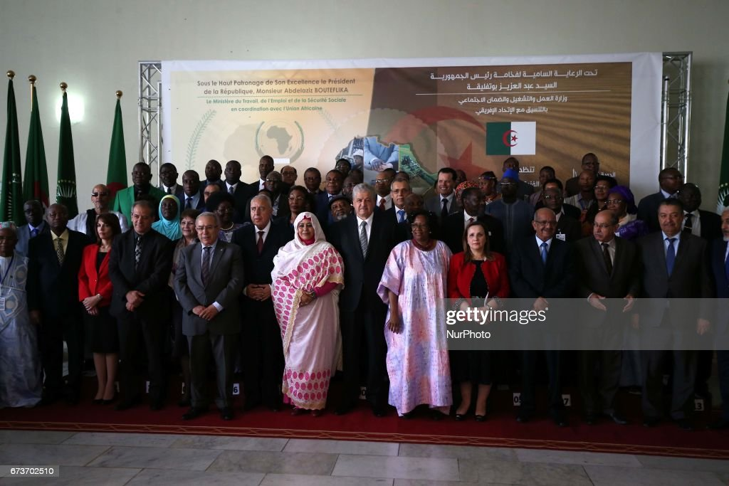 Second session of the Commission on Social Work and Labor in Algiers