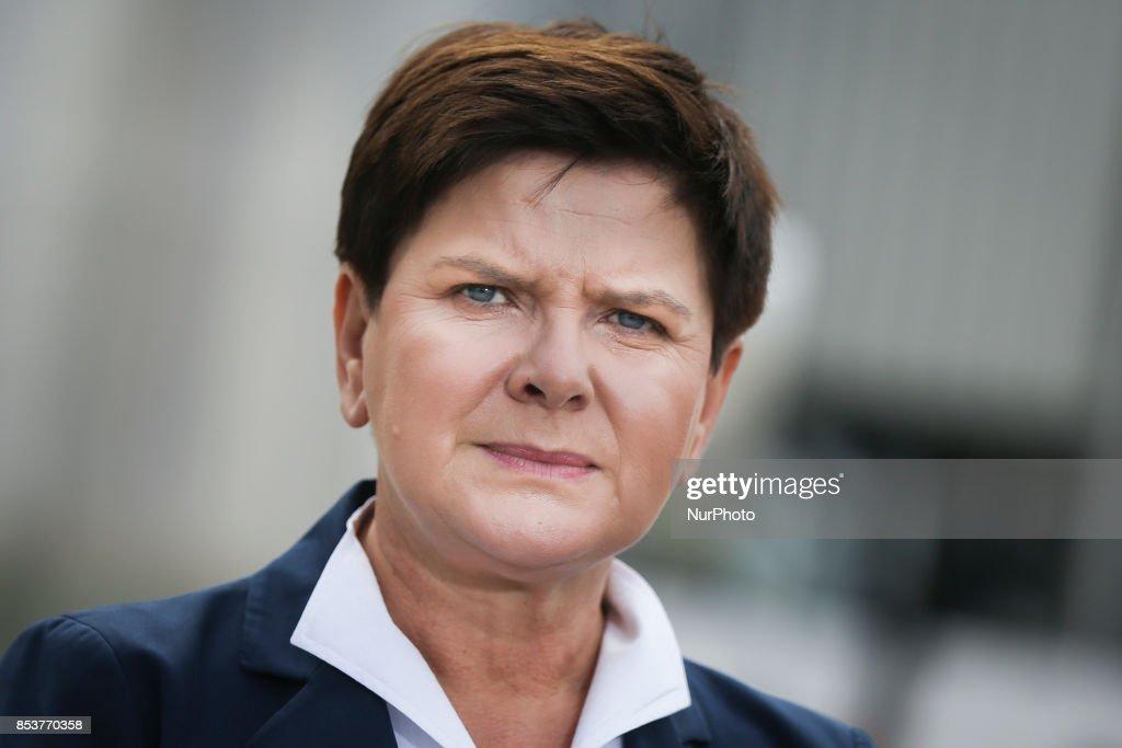 Prime Minister Beata Szydlo opened Polyamide Plant II in Tarnow