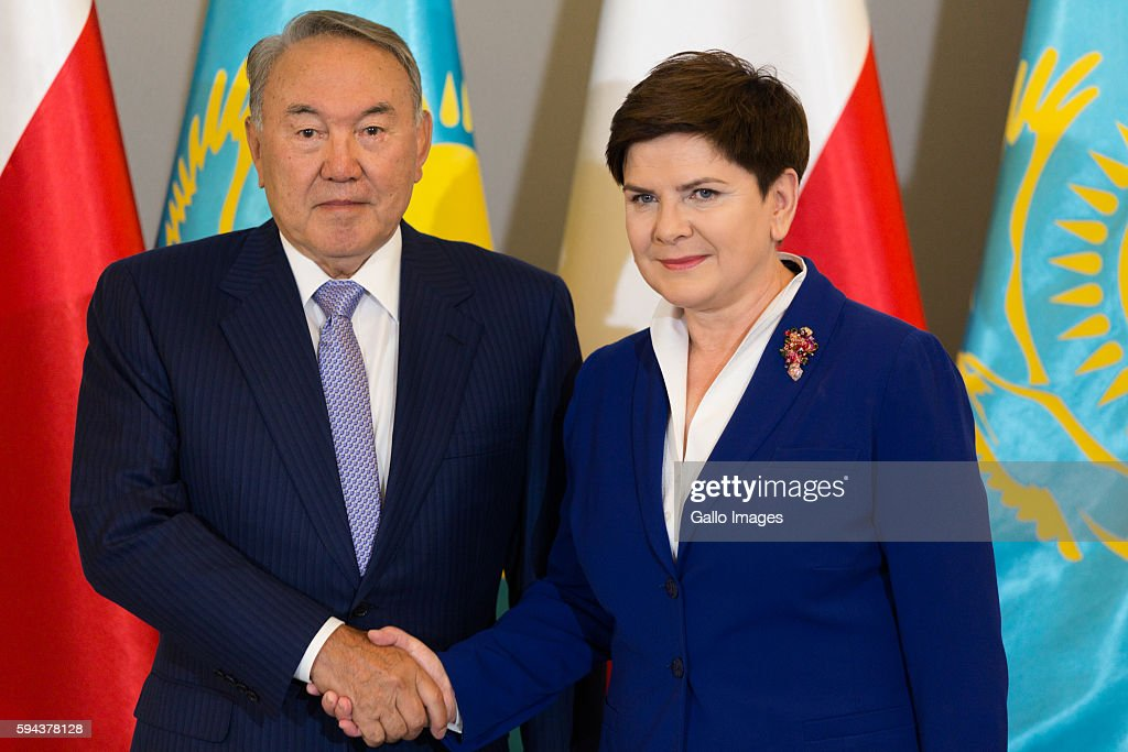 Beata Szydlo meets the President of Kazakhstan