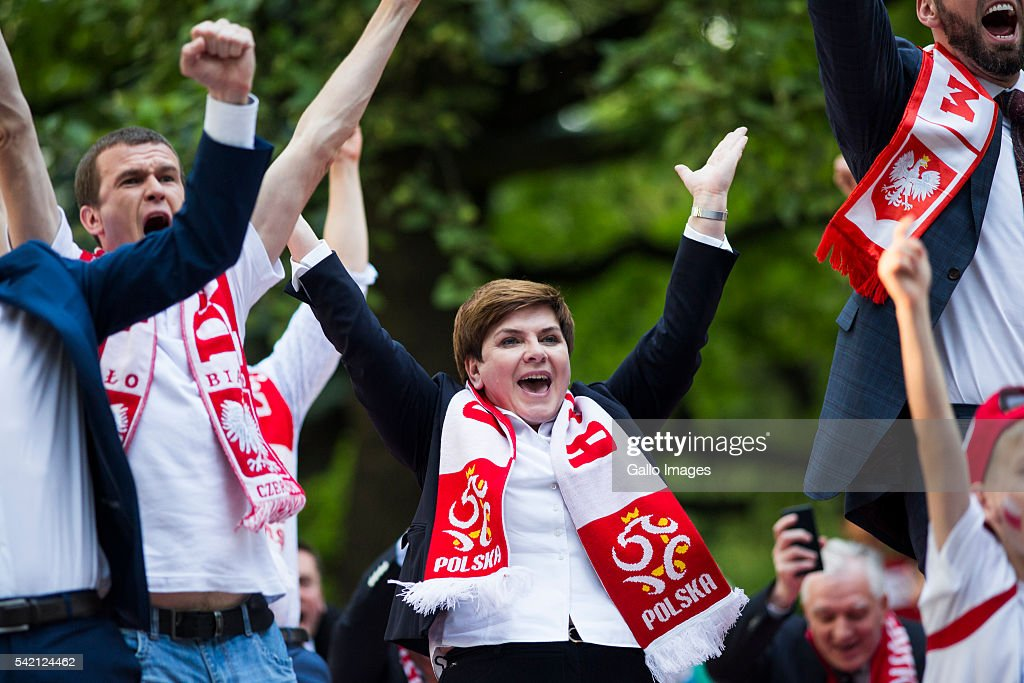 Prime Minister Supports Polish Football Team