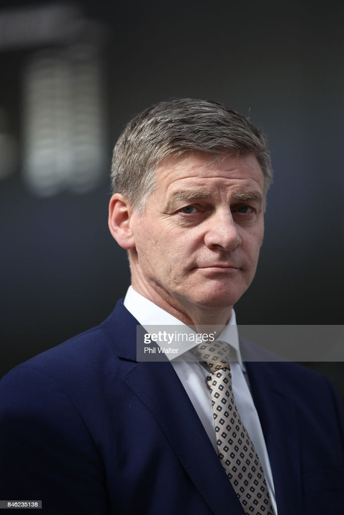 Bill English Campaigns In Auckland