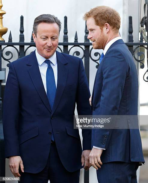 Prime Minister David Cameron and Prince Harry attend a Service of Commemoration for victims of the 2015 Terrorist Attacks in Tunisia at Westminster...