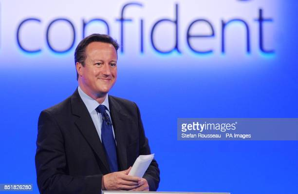 Prime Minister David Cameron launches the 'disability confident' campaign unveiled at the Disability Employment Conference in London today
