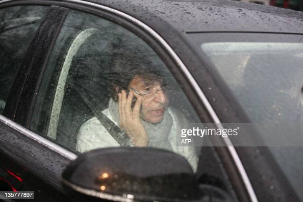 Prime Minister Elio Di Rupo arrives at the Prime Minister's office for a kern meeting a restricted ministers meeting at the 16 Law Street in Brussels...