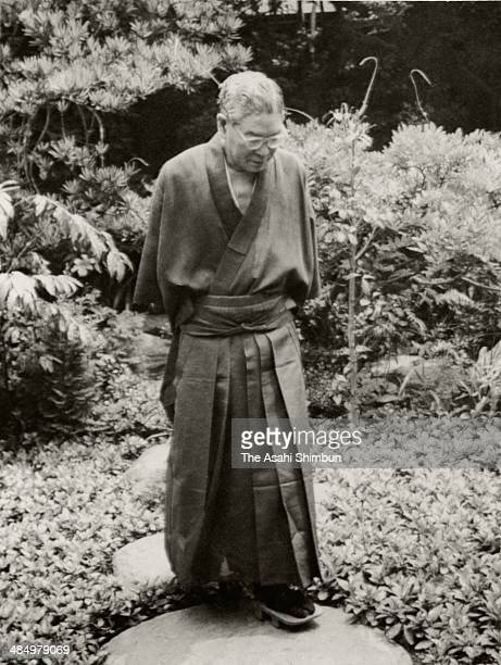 Prime Minister Hayato Ikeda is seen circa 1964 in Tokyo Japan Hayato Ikeda was three time Prime Minister of Japan 58th to 60th