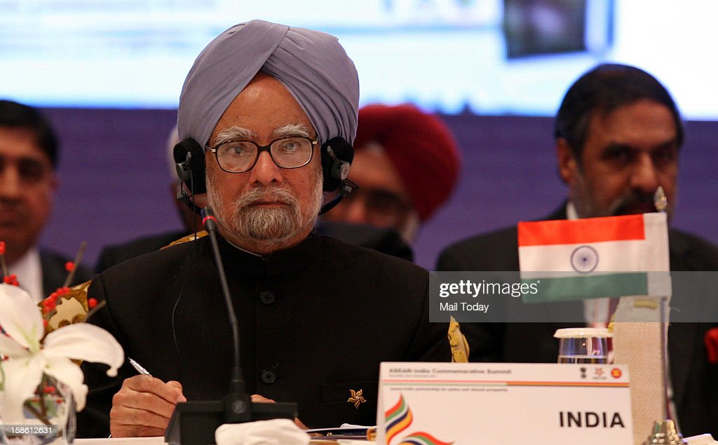 Prime Minister Manmohan Singh at the plenary session of ASEAN-India Commemorative Summit in New Delhi on Thursday, December 20, 2012.