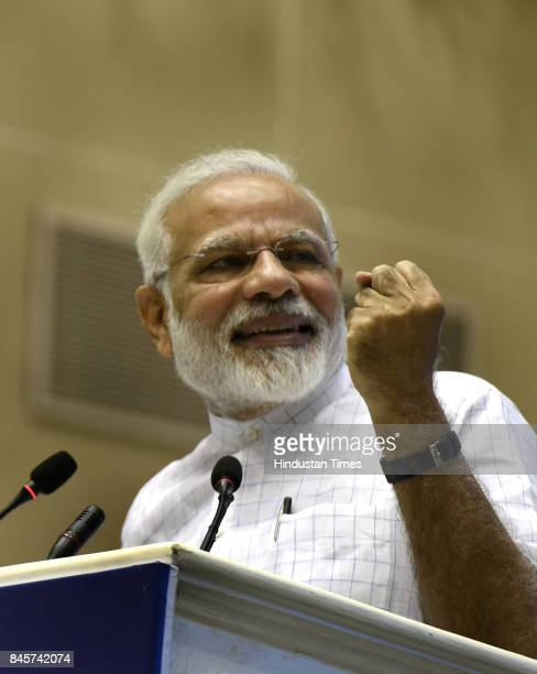 Prime Minister Narendra Modi addresses the youth on the 125th anniversary of Swami Vivekananda's Chicago address and Pandit Deen Dayal's anniversary...
