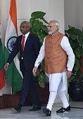 IND: Meeting Between Prime Minister Narendra Modi And Maldivian President Ibrahim Mohamed Solih