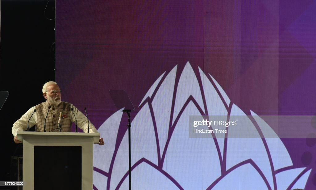 Prime Minister Narendra Modi And Sri Lankan PM Ranil Wickremesinghe Attend Inauguration Of GCCS 2017