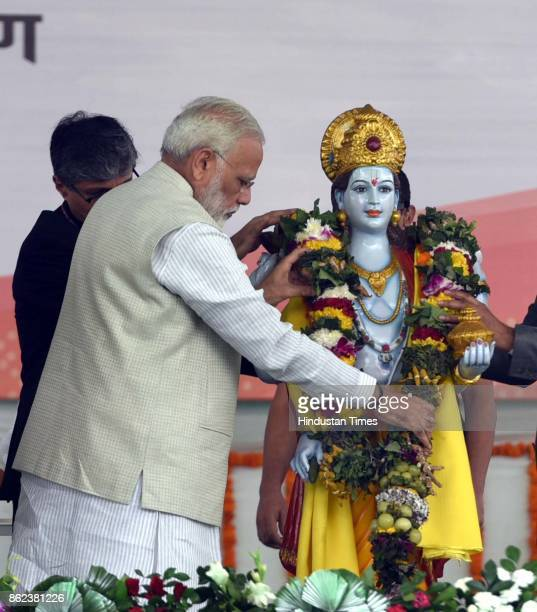 Prime Minister Narendra Modi during an event to dedicate first ever All India Institute of Ayurveda to the nation on the occasion of 2nd Ayurveda Day...