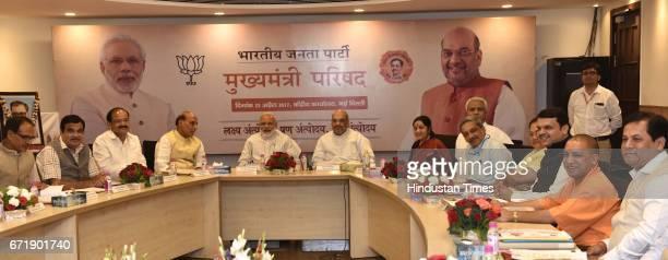 Prime Minister Narendra Modi Home Minister Rajnath Singh BJP President Amit Shah Minister of Road Transport and Highways Nitin Gadkari External...