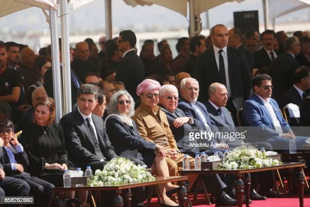 Prime Minister Nechirvan Barzani Kurdish Regional Government Deputy Prime Minister Kosrat Rasul Ali Kurdish Regional Government President Masoud...