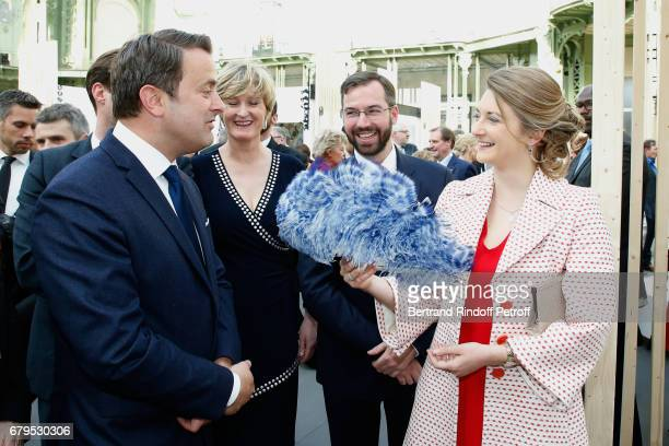 Prime Minister of Luxembourg Xavier Bettel Secretary of State for the Economy of Luxembourg Francine Closener GrandDuc Heritier Guillaume and...