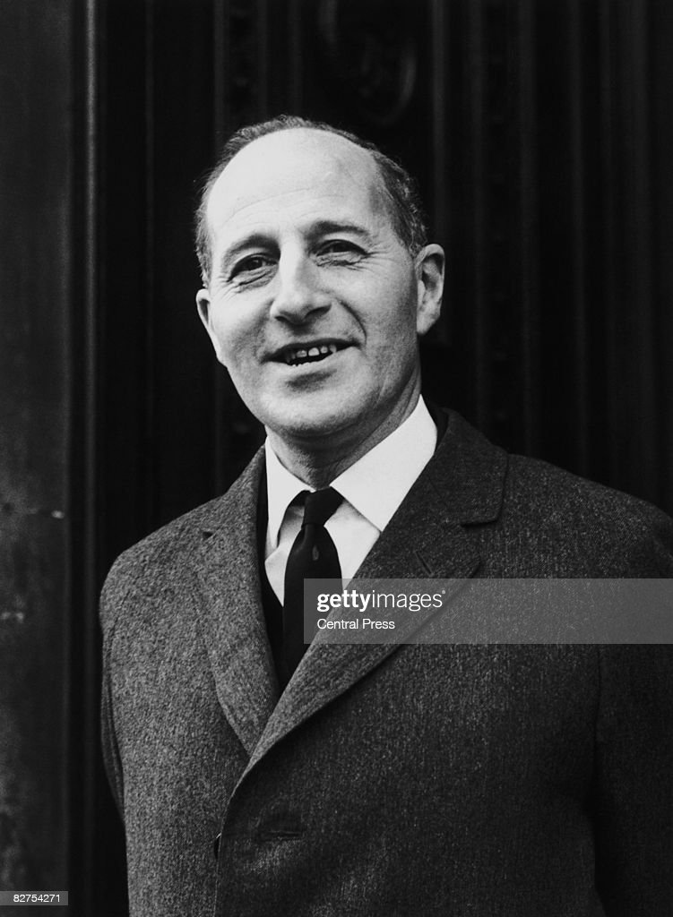 Prime Minister of Northern Ireland Terence O'Neill (1914 - 1990) in London, 9th January 1969.