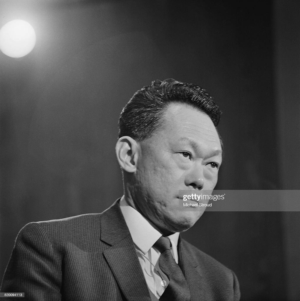 Prime Minister of Singapore Lee Kuan Yew 5th January 1969
