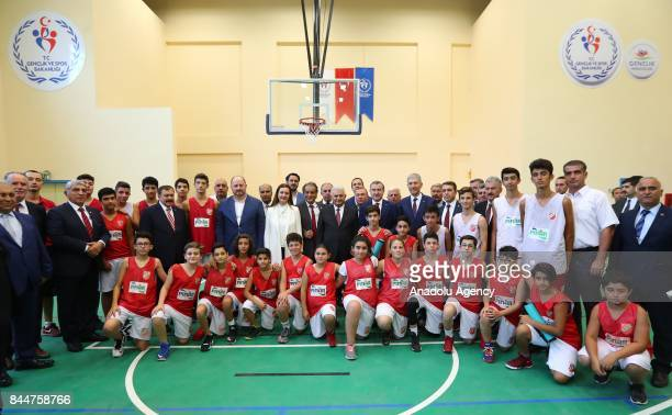 Prime Minister of Turkey Binali Yildirim Turkish Youth and Sports Minister Osman Askin Bak Turkish Minister of Forestry and Water Veysel Eroglu...