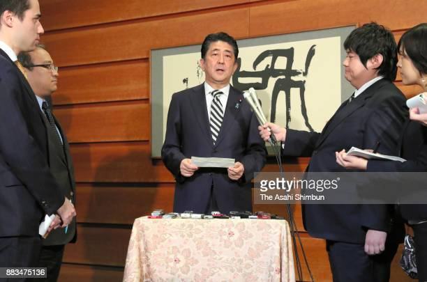 Prime Minister Shinzo Abe announced that Crown Prince Naruhito would become emperor on May 1 based on recommendations made in a meeting of the...