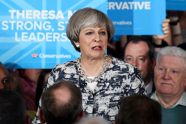 Theresa May Tours The UK On The Final Day Of The Election Campaign : News Photo