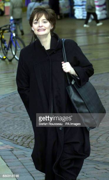 Prime Minister's wife Cherie Blair arrives at Luton Crown Court where she sits as a crown court recorder Mrs Blair was fined 10 on after she failed...