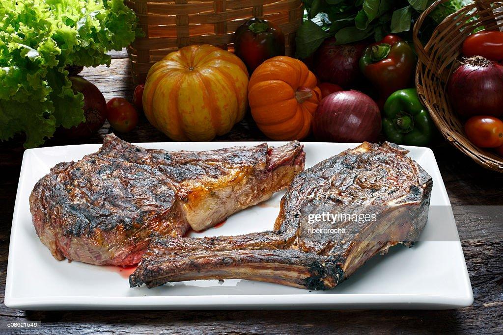 Prime rib : Stock Photo