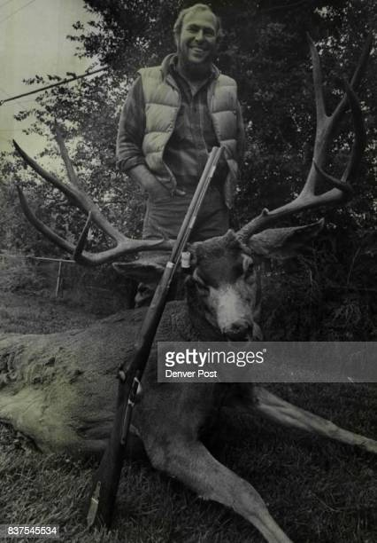 Primitive Weapon Bags Huge Buck On First Try Gilbert Evans 1661 Carroll Court in Thornton bought a 58 caliber Muzzleloader rifle a reproduction of...