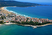 Primorsko Town, Port,  Bulgaria Black Sea