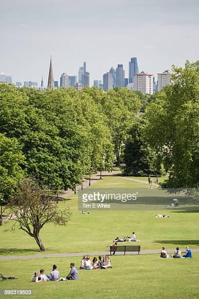 Primrose Hill, London, UK