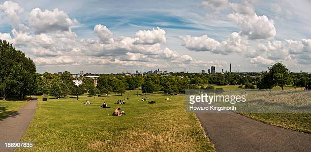 Primrose Hill looking South