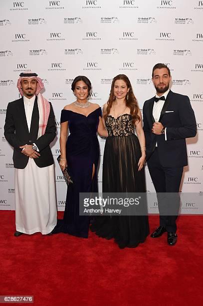 Prince Abdulaziz Turki Al Faisal IWC Brand Ambassador and racer Hend Sabry IWC Brand Ambassador and actress Raya Abirached IWC Brand Ambassador and...