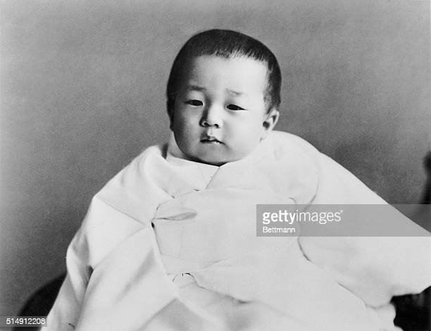 Prince Akihito at Two Years Old