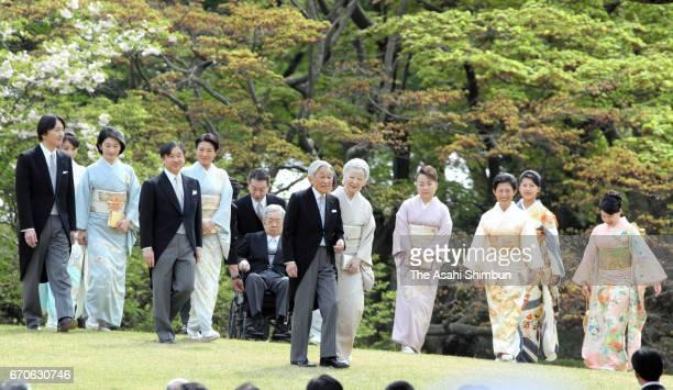Prince Akishino Princess Mako Princess Kiko of Akishino Crown Prince Naruhito Crown Princess Masako Prince Hitachi Emperor Akihito Empress Michiko...