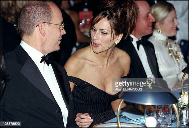 Prince Albert and Tascha in Monaco on October 08 2000
