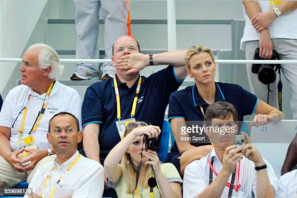 Prince Albert de Monaco / Charlene WITTSTOCK Jeux Olympiques de Pekin